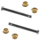 1ADRK00017-Door Hinge Pin & Bushing Kit (2 Pins & 4 Bushings) Pair