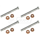 1ADRK00018-Door Hinge Pin & Bushing Kit (4 Pins & 8 Bushings)