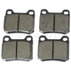 1ABPS00192-Mercedes Benz Brake Pads Rear