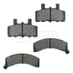 1ABPS00190-Brake Pads Front