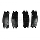 1ABPS00138-Subaru Brake Pads Rear