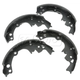 1ABPS00145-Brake Shoes Rear