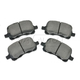 1ABPS00143-1998-02 Chevy Prizm Toyota Corolla Brake Pads Front