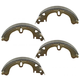 1ABPS00150-Brake Shoes Rear