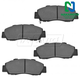 1ABPS00165-Brake Pads Nakamoto MD503