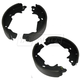 1ABPS00172-1998-03 Toyota Sienna Brake Shoes
