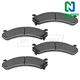 1ABPS00178-Brake Pads Front