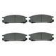 1ABPS00231-Subaru Brake Pads Rear  Nakamoto CD471