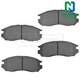 1ABPS00232-Brake Pads Front Nakamoto CD484