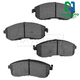 1ABPS00222-Brake Pads Front  Nakamoto MD815