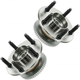 1ASHS00145-Ford Windstar Wheel Bearing & Hub Assembly Pair Rear