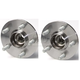1ASHS00146-Wheel Bearing & Hub Assembly Pair Rear