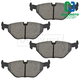 1ABPS00217-BMW Brake Pads Rear