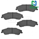 1ABPS00242-Brake Pads Rear