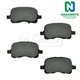 1ABPS00243-1998-02 Chevy Prizm Toyota Corolla Brake Pads Front