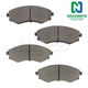 1ABPS00240-Brake Pads Front