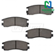 1ABPS00241-Brake Pads Rear