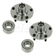 1ASHS00120-Wheel Bearing & Hub Assembly Pair Front