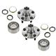 1ASHS00100-Toyota Camry Celica Wheel Bearing & Hub Kit Pair Front