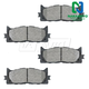 1ABPS00212-Brake Pads Front