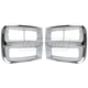 1ALPP00461-1992-96 Chevy Van G-Series Headlight Bezel Pair