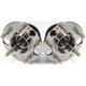 1ASHS00199-1991-95 Acura Legend Wheel Bearing & Hub Assembly Pair Rear
