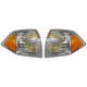 1ALPP00437-2007-10 Jeep Compass (MK) Corner Light Pair