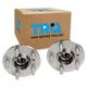 1ASHS00157-Wheel Bearing & Hub Assembly Rear Pair