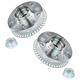 1ASHS00167-Audi TT Volkswagen Golf Wheel Hub Pair Rear