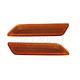 1ALPP00477-Chrysler Sebring Reflector Front Pair