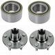 1ASHS00815-Wheel Bearing & Hub Kit Front Pair