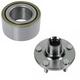 1ASHS00814-Wheel Bearing & Hub Kit Front