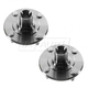 1ASHS00779-Mitsubishi Lancer Wheel Hub Front Pair