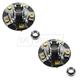 1ASHS00786-Acura RL TL Wheel Hub Front Pair