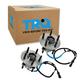 1ASHS00718-2004-07 Wheel Bearing & Hub Assembly Rear Pair