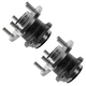 1ASHS00723-2004-08 Mazda 3 Wheel Bearing & Hub Assembly Rear Pair