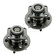 1ASHS00725-Wheel Bearing & Hub Assembly Rear Pair