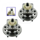 1ASHS00726-Wheel Bearing & Hub Assembly Rear Pair