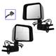 1AMRP01332-2011-13 Jeep Wrangler Mirror Pair