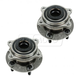1ASHS00732-Wheel Bearing & Hub Assembly Rear Pair