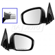 1AMRP01357-2013-16 Nissan Pathfinder Mirror Pair