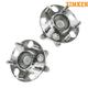 TKSHS00483-2006-11 Honda Civic Wheel Bearing & Hub Assembly Rear Pair Timken 512256
