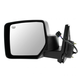 1AMRE02537-2007-13 Jeep Patriot (MK) Mirror Driver Side Black