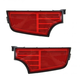 1ALPP00998-2010-13 Kia Soul Bumper Reflector Pair Rear