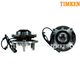 TKSHS00413-Ford F150 Truck Wheel Bearing & Hub Assembly Front Pair  Timken SP550212