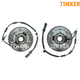 TKSHS00412-2004-07 Wheel Bearing & Hub Assembly Front Pair  Timken HA590024  HA590025