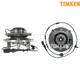 TKSHS00411-2003-06 Wheel Bearing & Hub Assembly Front Pair Timken 515043