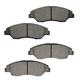 1ABPS00710-1998-02 Kia Sportage Brake Pads Front