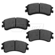 1ABPS00728-2003-05 Mazda 6 Brake Pads Front