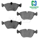 1ABPS00726-BMW 525i 528i 528iT Brake Pads Front  Nakamoto CD947